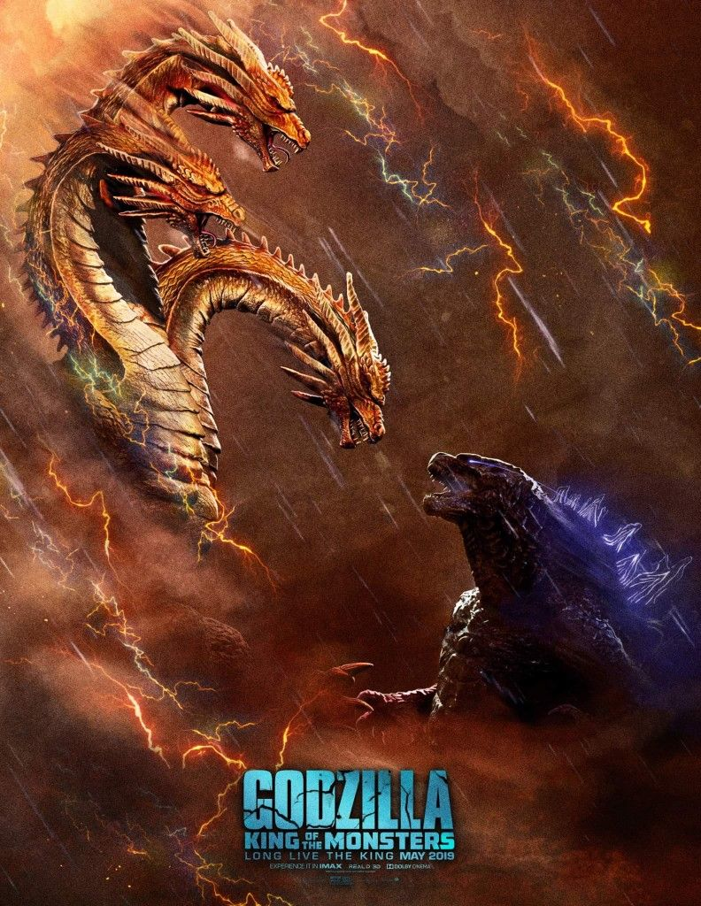 King Ghidorah Vs Godzilla Godzilla Kaiju Monsters Monster