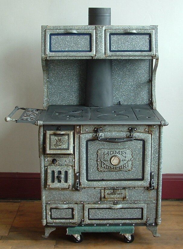 Beautiful vintage wood stove - Beautiful Vintage Wood Stove Fogão Antigos Pinterest