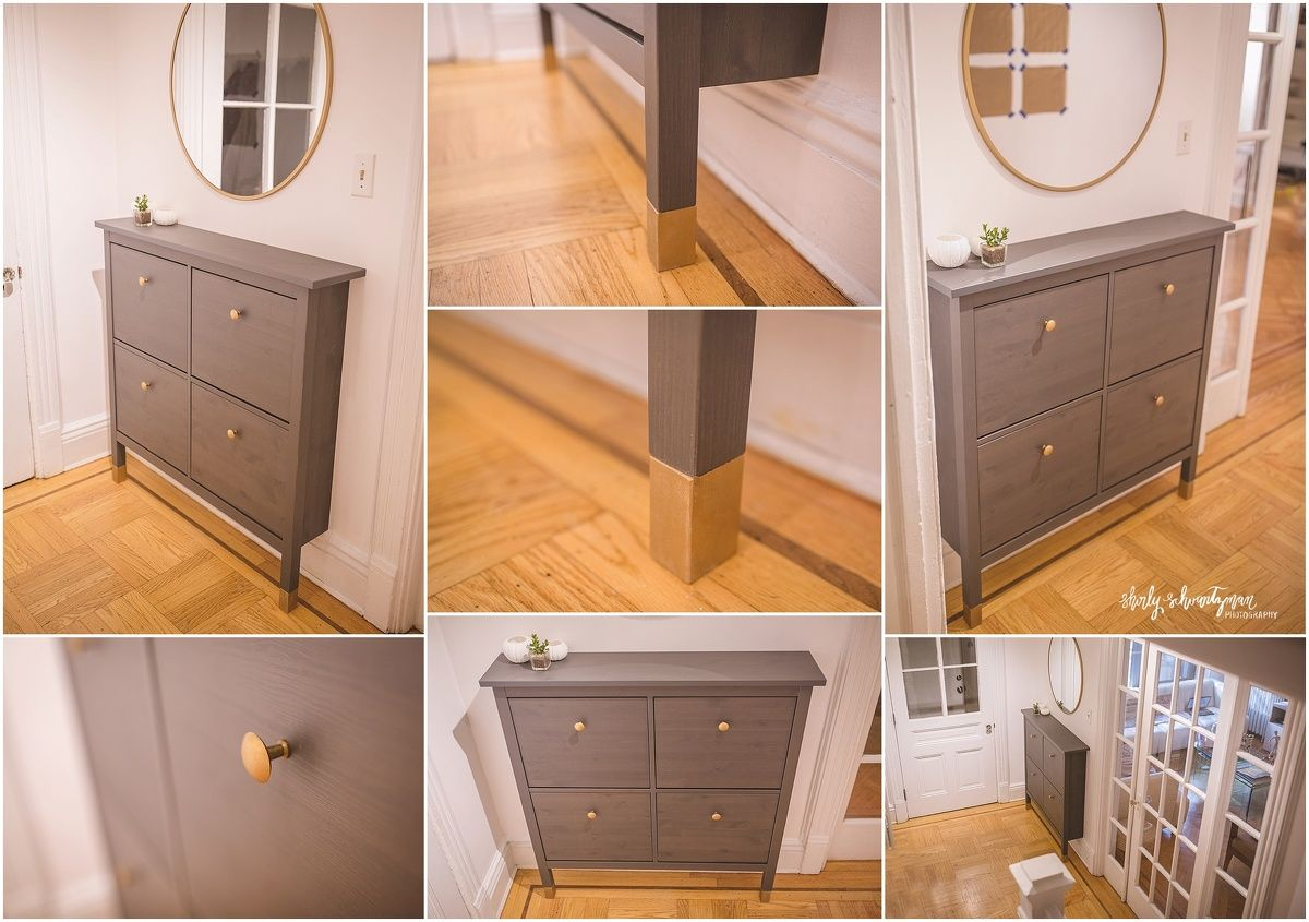 Ikea Hack Hemnes Shoe Cabinet Storage How To Raise Ikea Hemnes For Tall Baseboards We Rec Ikea Shoe Cabinet Hemnes Shoe Cabinet Shoe Storage Cabinet Entryway