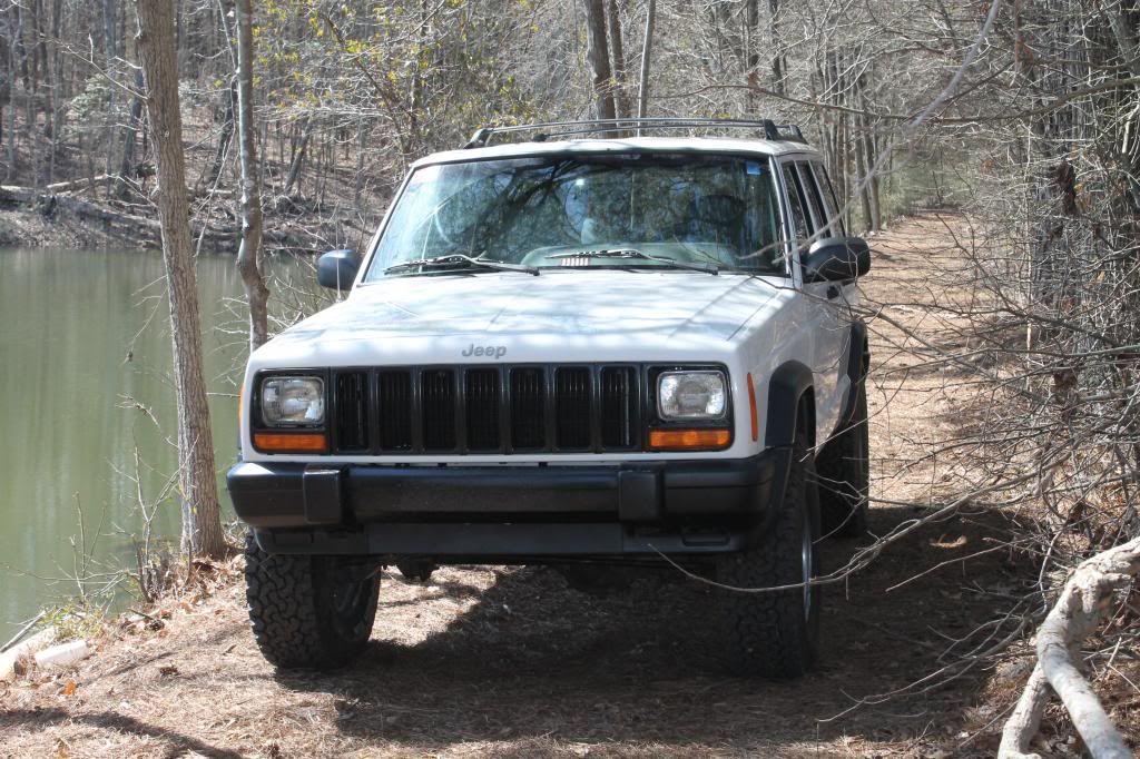 3 Inch Lift 31s Stock Backspacing Jeep Jeep Cherokee Jeep
