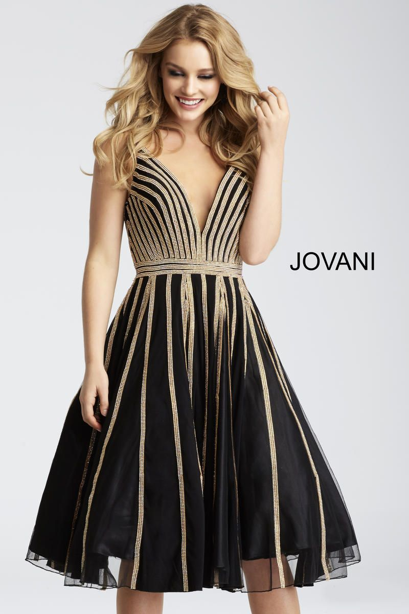 Jovani deep v midi homecoming dress homecoming dresses
