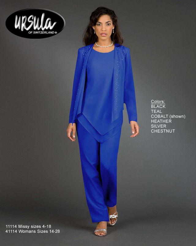 special occasion pant suits for women | Ursula Pant Suit ...
