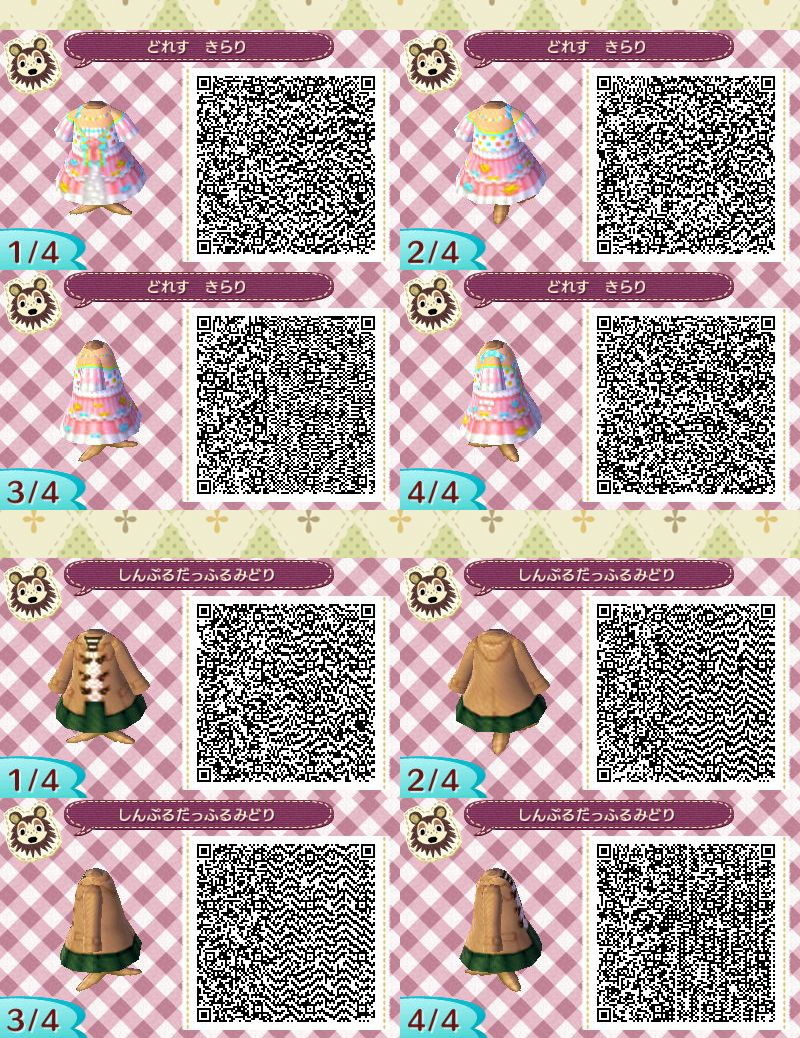 D Animal Crossing Qr Codes Animal Crossing Animal Crossing Qr Codes Clothes