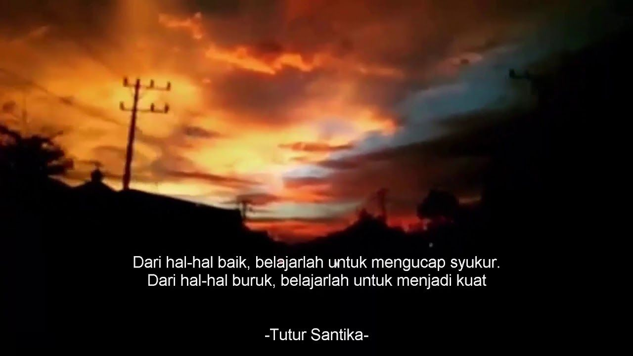 Captionkeren Caption Video Quotes Senja Dengan Gambar Bijak