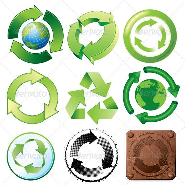 Recycle Symbols Collection Pinterest Recycle Symbol Symbols And