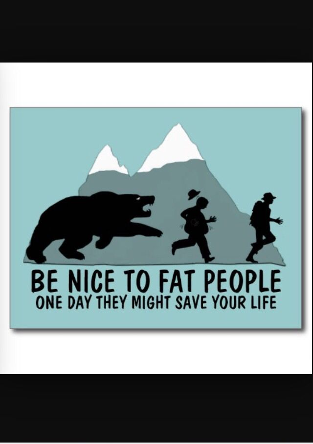 Chubby friends will save your life