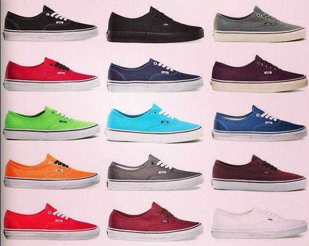 chaussures vans couleur noir
