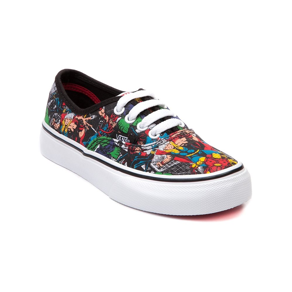 e643b20930 Youth Vans Authentic Avengers Skate Shoe Journeys Kidz