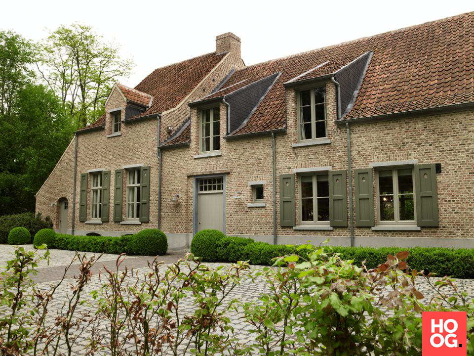 Landelijke villabouw | house designs | dream homes | dreamy houses | droomhuis | Hoog.design
