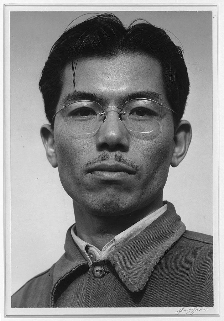 Ansel Adams' internment camp photos - Business Insider  Frank Hirosawa was a rubber chemist