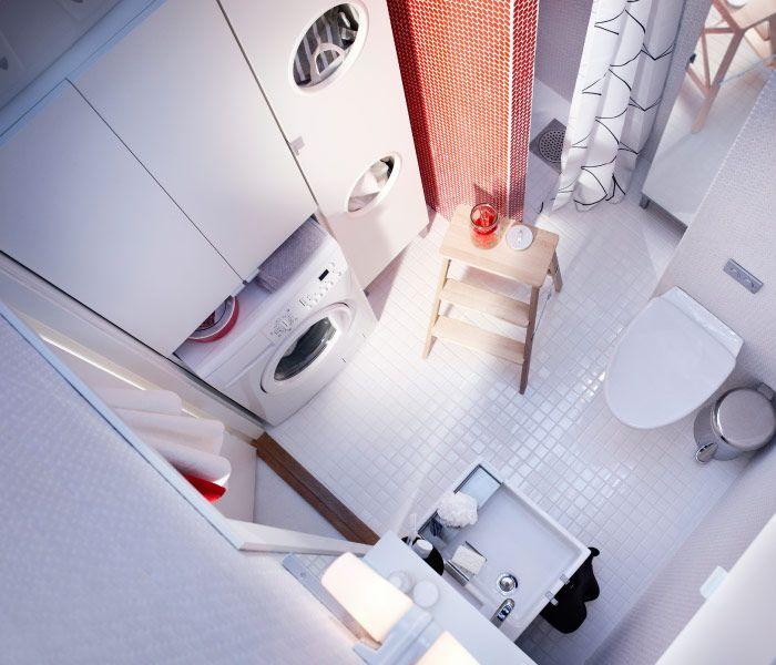 waschmaschinen schrank hauswirtschaftsraum mit unterbauwaschbecken und. Black Bedroom Furniture Sets. Home Design Ideas