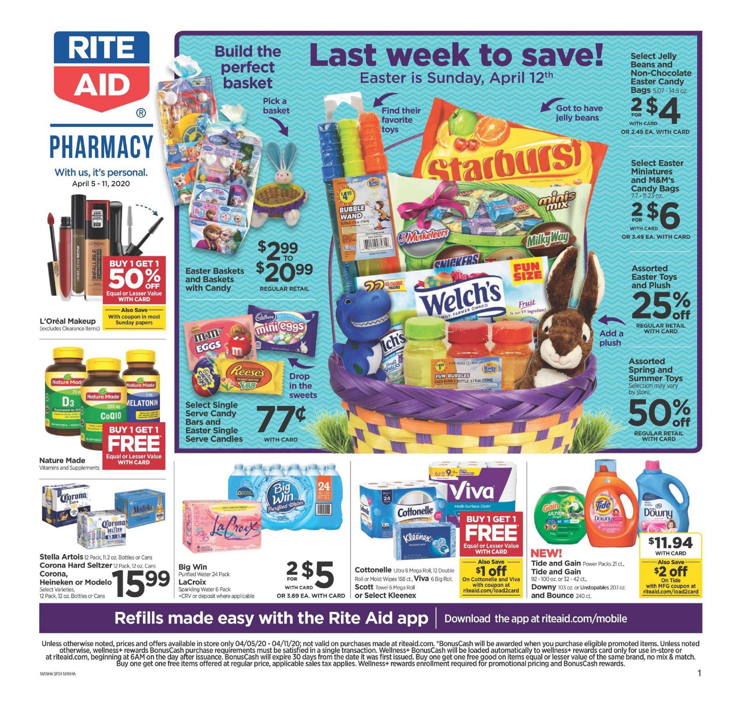Rite Aid Weekly Ad Apr 5 Apr 11 2020 Sneak Peek Ad Preview Weekly Ads Rite Aid Ads