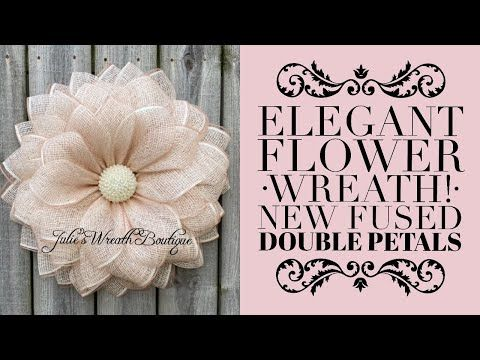 Photo of Flower wreath tutorial / How to make a decorative wreath / Bling Center