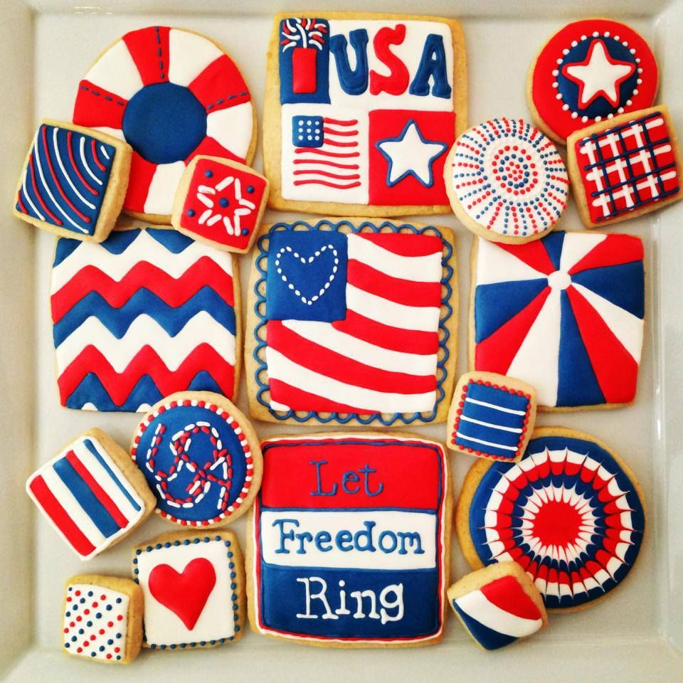 cookies 4th of july