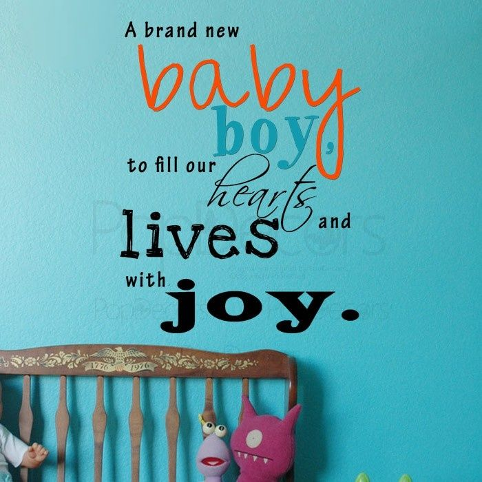 words for a new baby