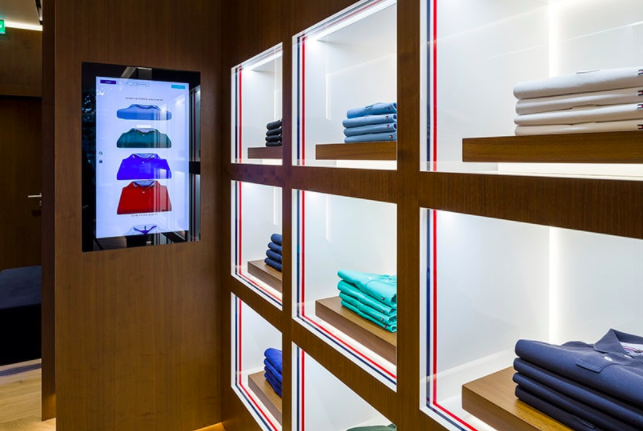 Hilfiger's Future Store For Now (With images) | Retail ...
