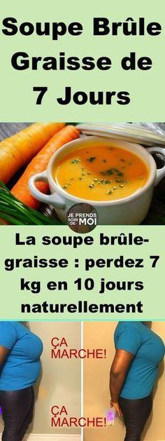 La soupe brûle-graisse : perdez 7 kg en 10 jours