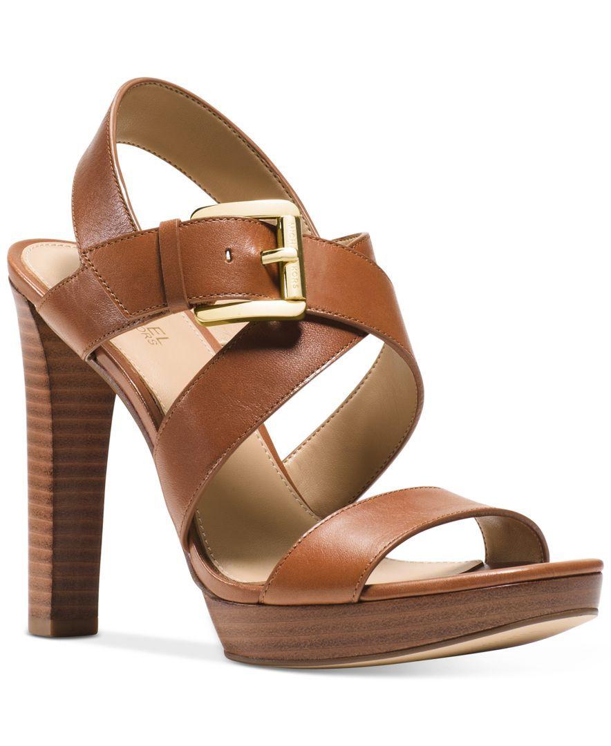 b7927488b30 Michael Michael Kors Jocelyn Strappy Platform Sandals