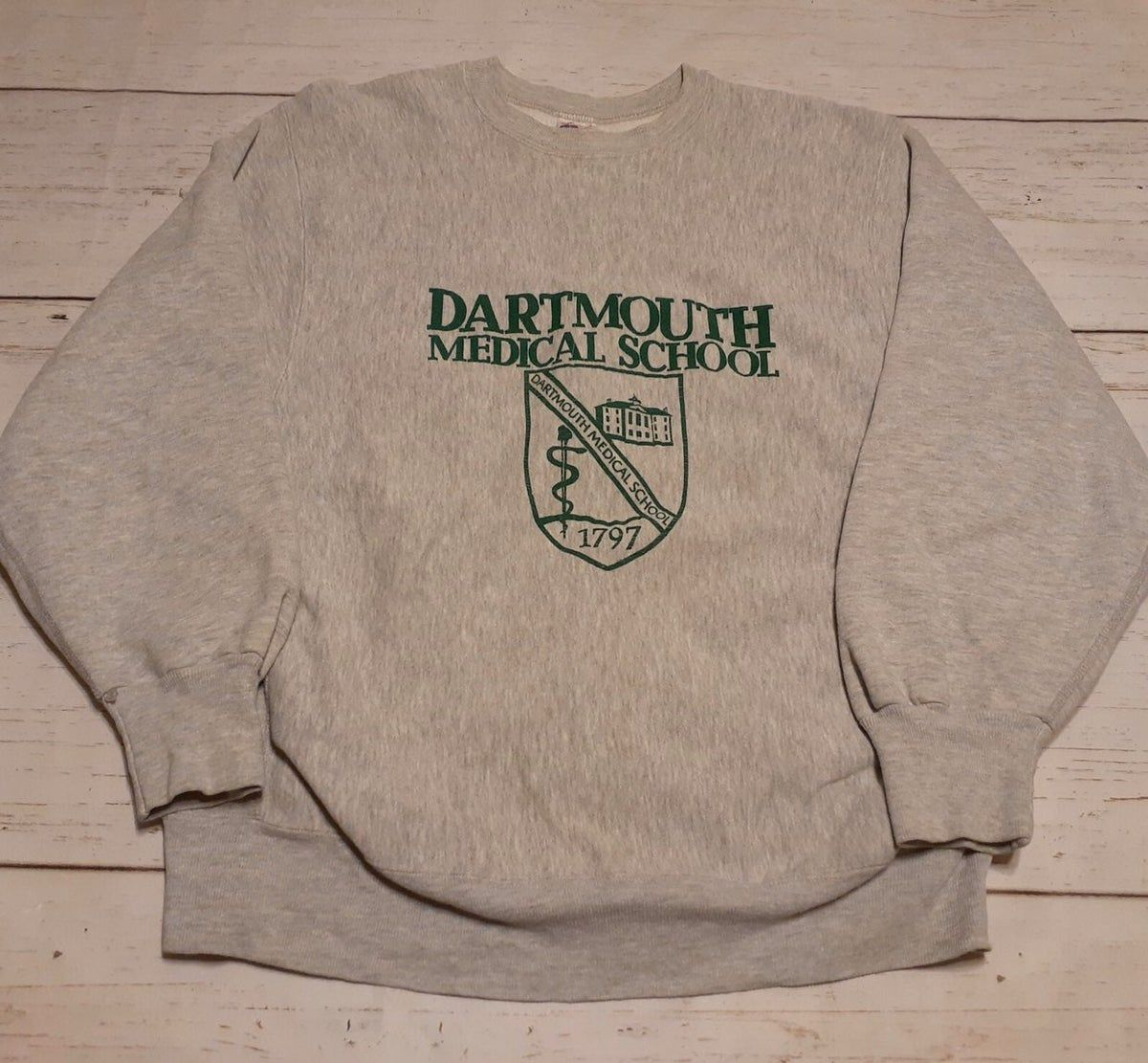 Dartmouth Medical School Sweatshirt L School Sweatshirts Sweatshirts Grey Sweatshirt [ 1111 x 1200 Pixel ]