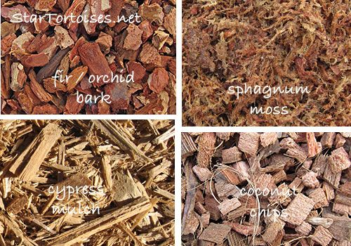 Substrates Fir Orchid Bark Cypress Mulch Coconut Husk Chips