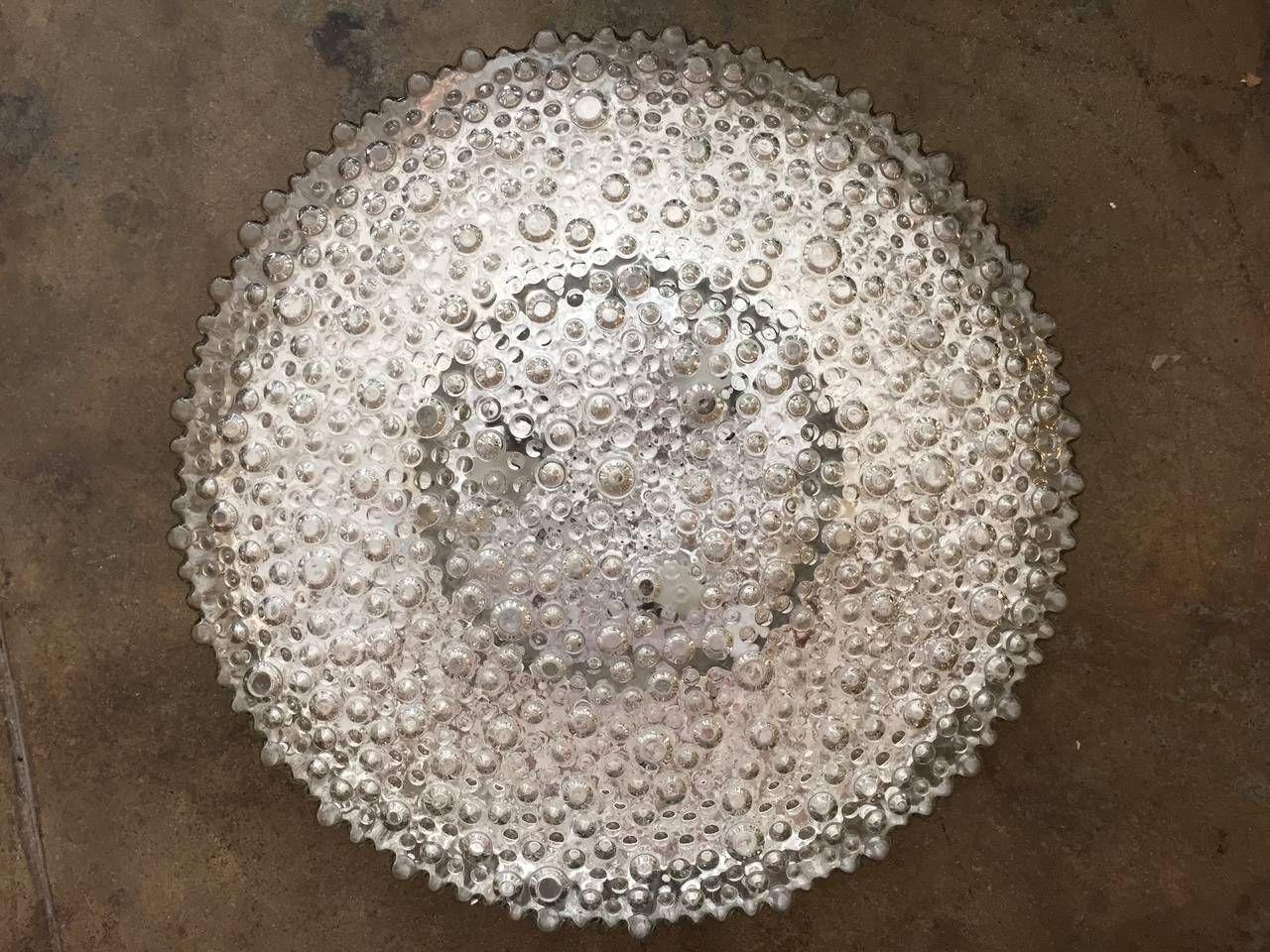 Plafonnier Salle De Bain Jumbo ~ jumbo size bubble limburg glass flush light pinterest