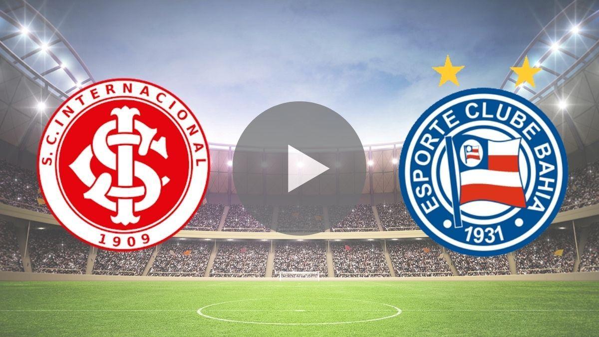 Assistir Jogo Do Inter X Bahia Ao Vivo Na Tv E Online No Premiere Assistir Jogo Campeonato Brasileiro Bahia