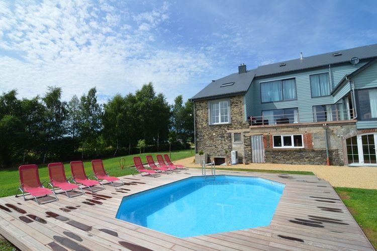 Luxe voormalige boerderij met buiten zwembad voor 12 personen, 6 ...