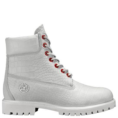 TIMBERLAND® MEN'S LIMITED RELEASE WHITE SERPENT 6 INCH PREMIUM WATERPROOF BOOTS