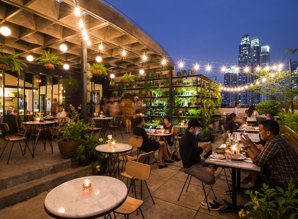 Hause Rooftop provides a green, secluded space that feels