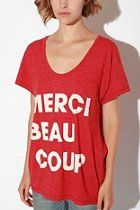 Truly Madly Deeply Merci Tee Shirt