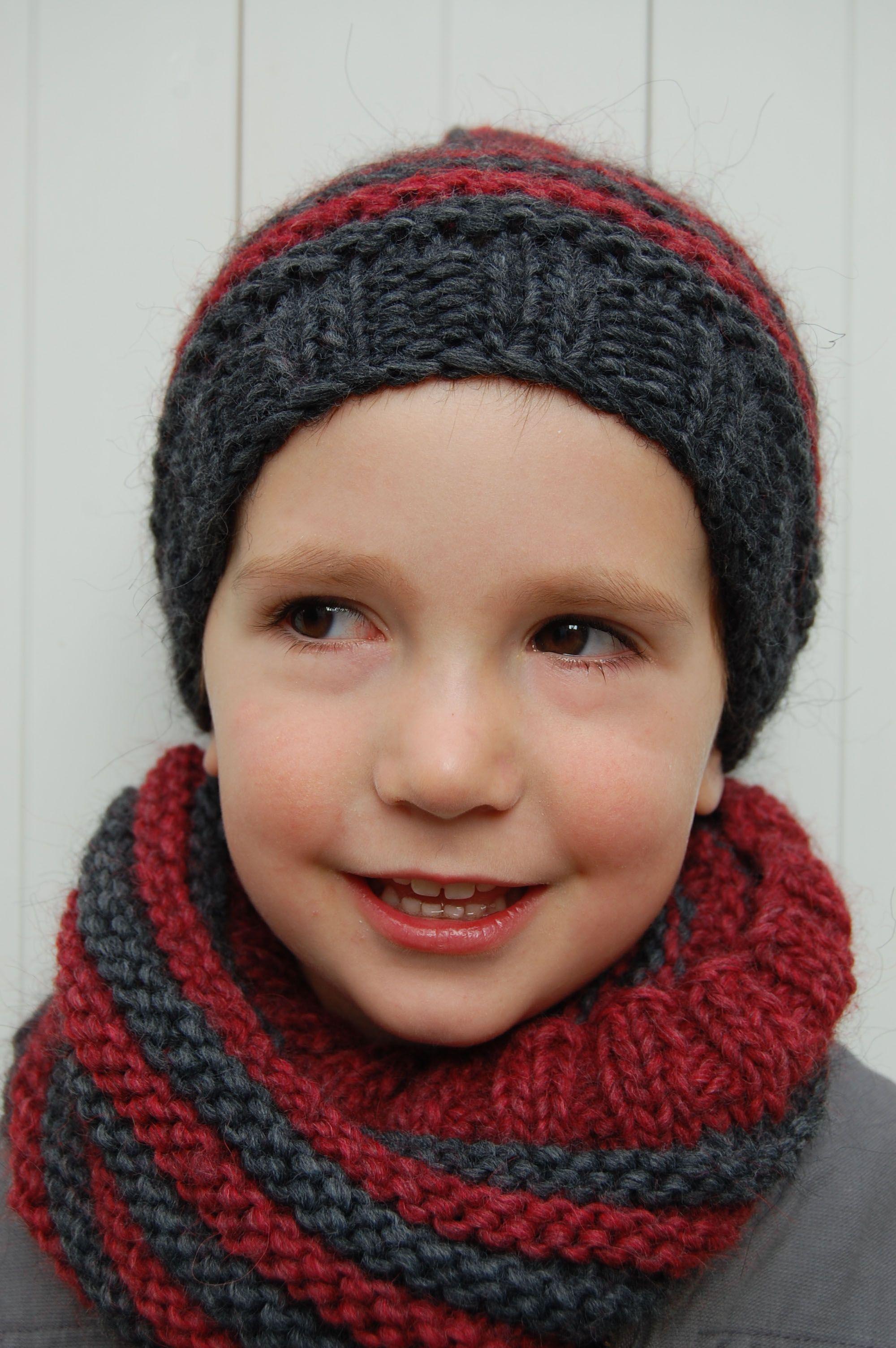 modele tricot bonnet enfant gratuit