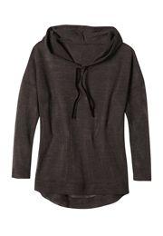 drop shoulder mesh hoodie - maurices.com