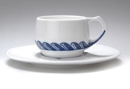 Henry van de Velde teacup and saucer, 1903  |  SOLD $1,833.00 Germany 2006