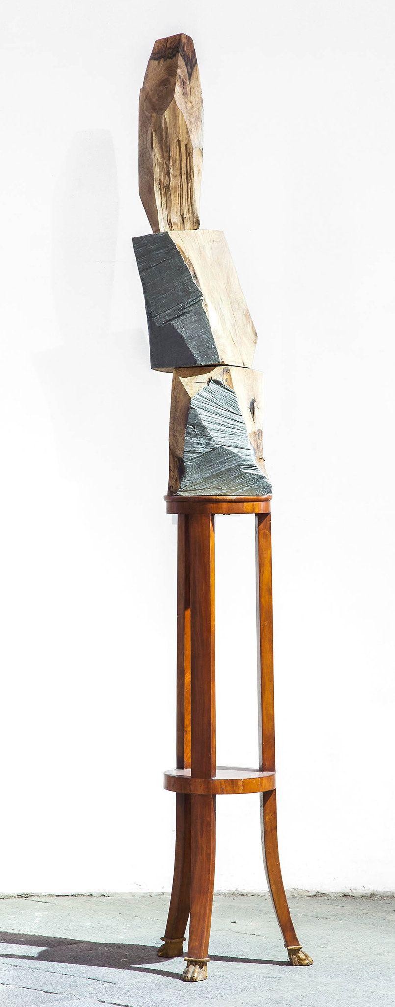 Jimmie Durham. Forest and Brancusi, 2012.