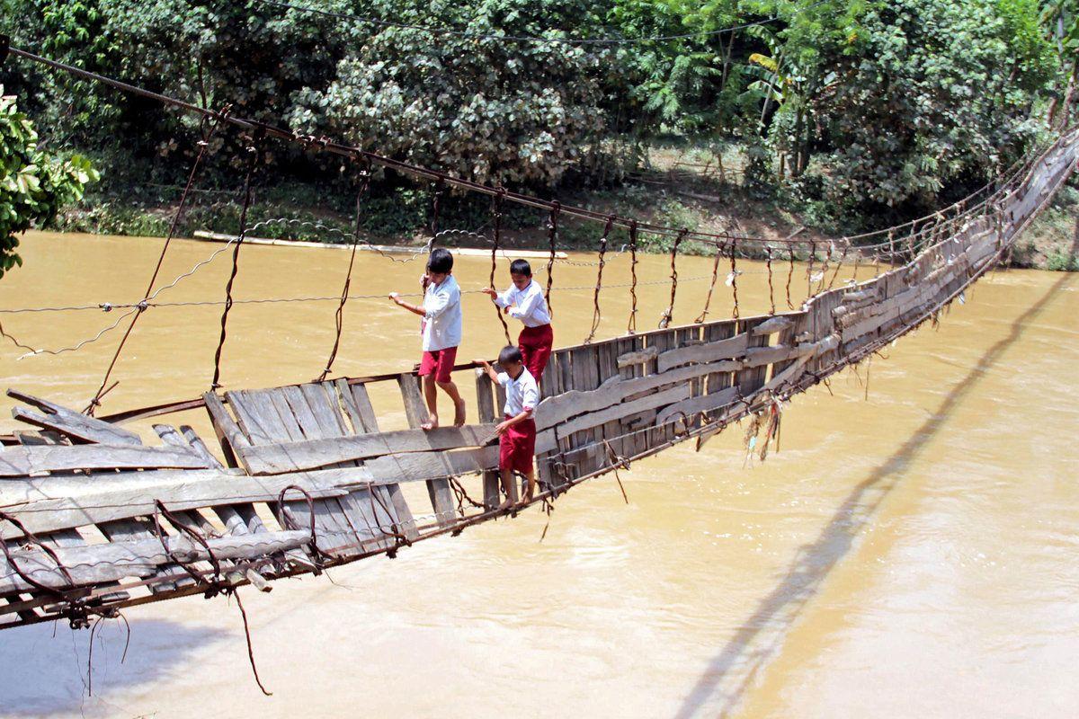نتيجة بحث الصور عن puentes peligrosos