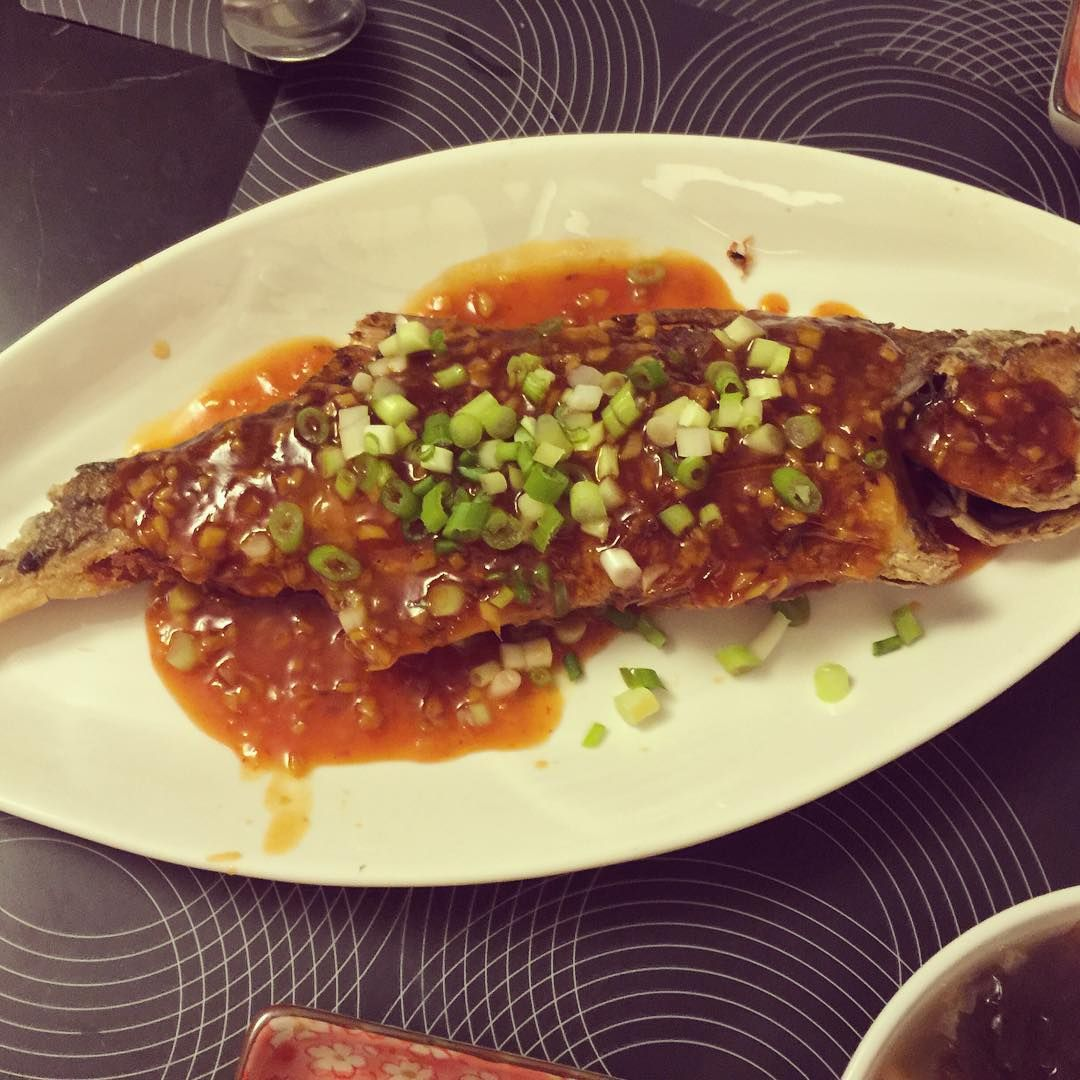 fried fish with plum sauce this simple fried fish has been