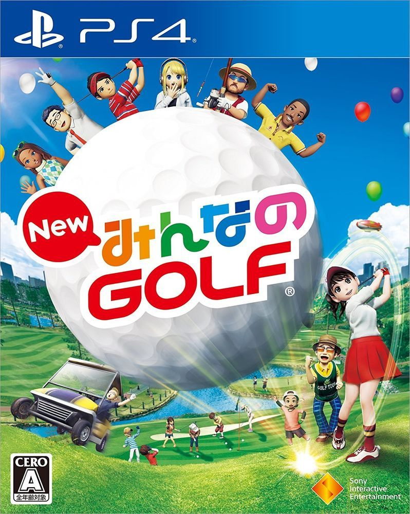 PS4 Minna no Everybody's Golf Japan PlayStation 4 From