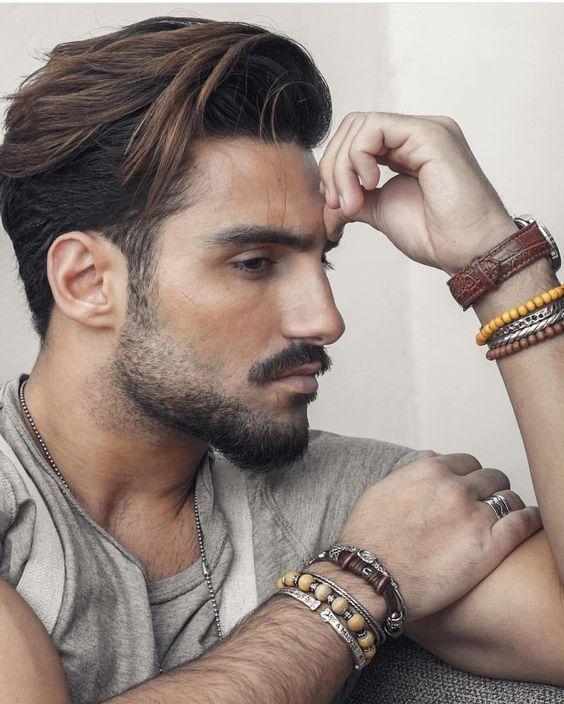bartfrisur | frisur dicke haare, männer frisur kurz, frisuren