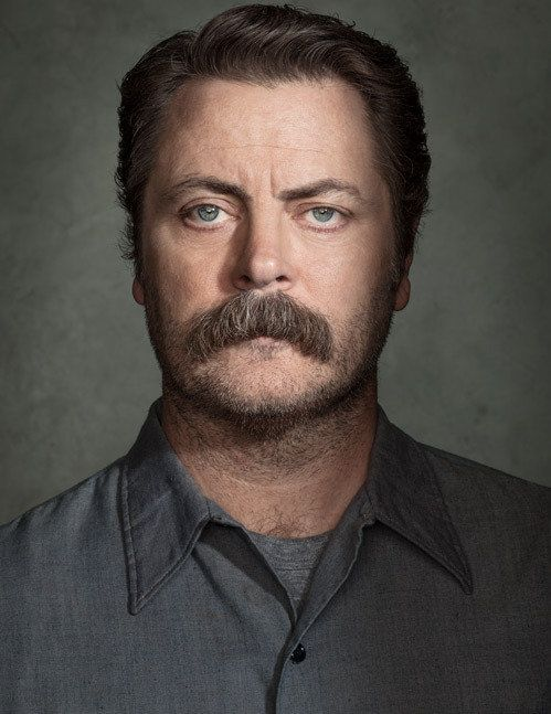Nick Offerman starred in the NBC series Parks and Recreation and is also the author of the book Paddle Your Own Canoe.