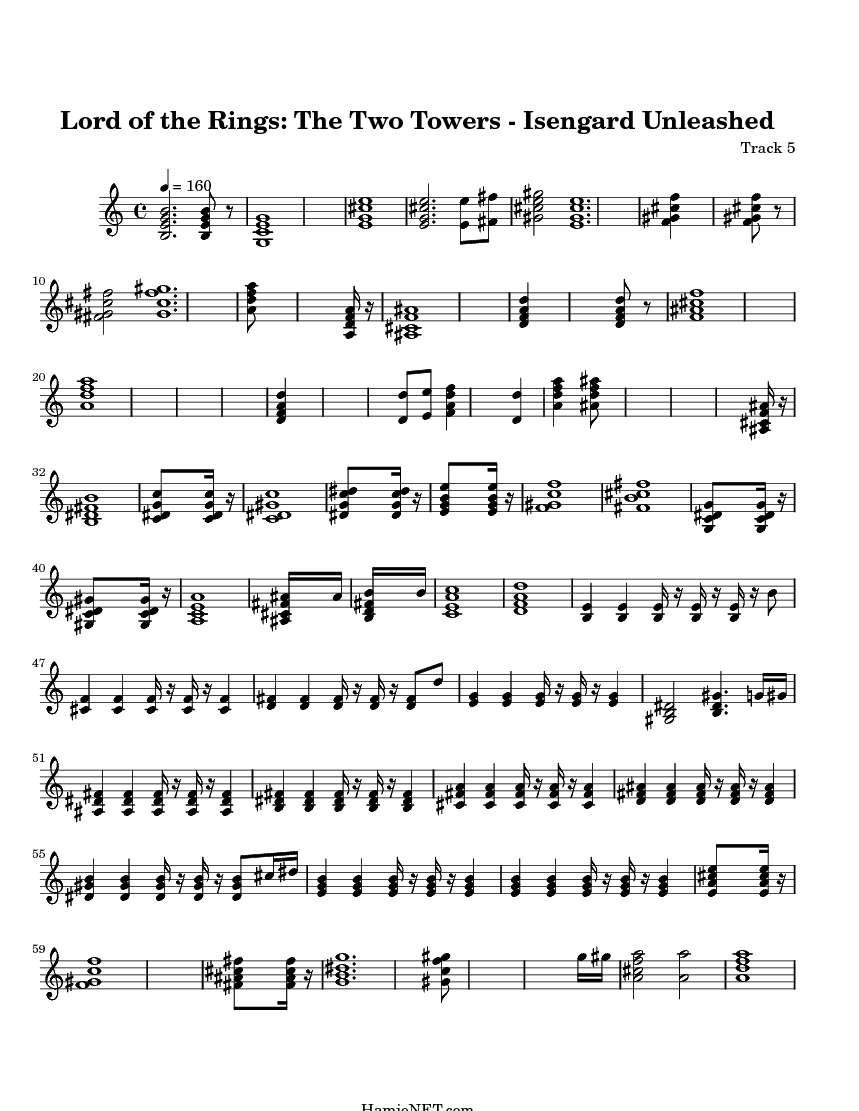 Lord Of The Rings Nazgul Theme Sheet Music