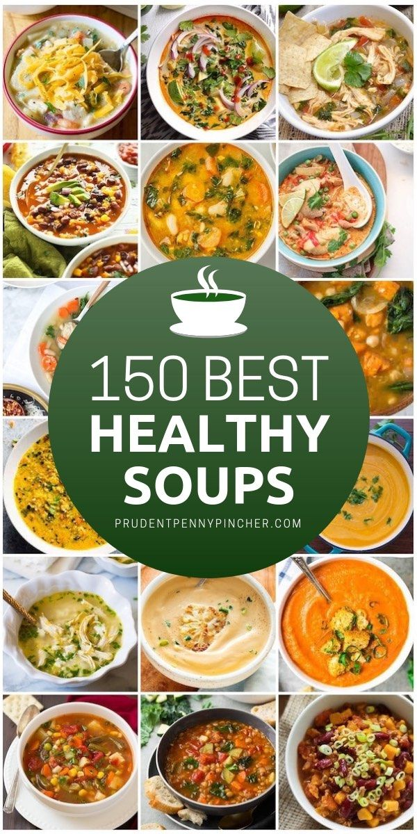 150 Healthy Soup Recipes images