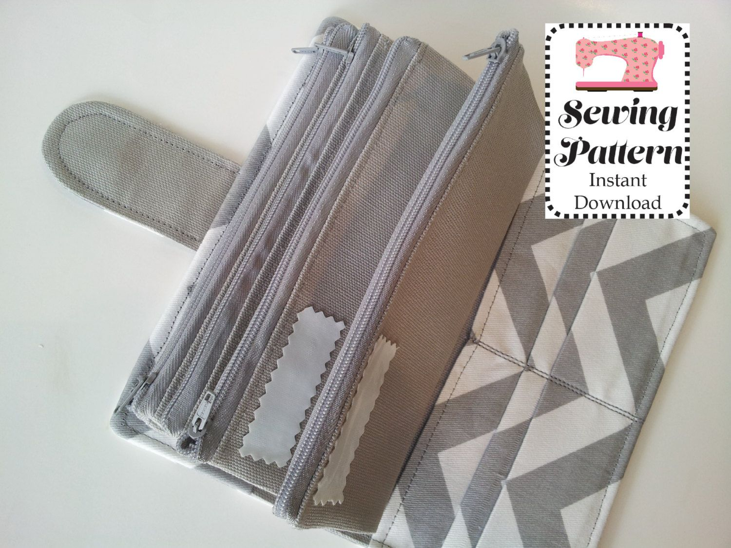 Wallet Sewing Pattern Pdf Cash Envelope Wallet  Cash Budget