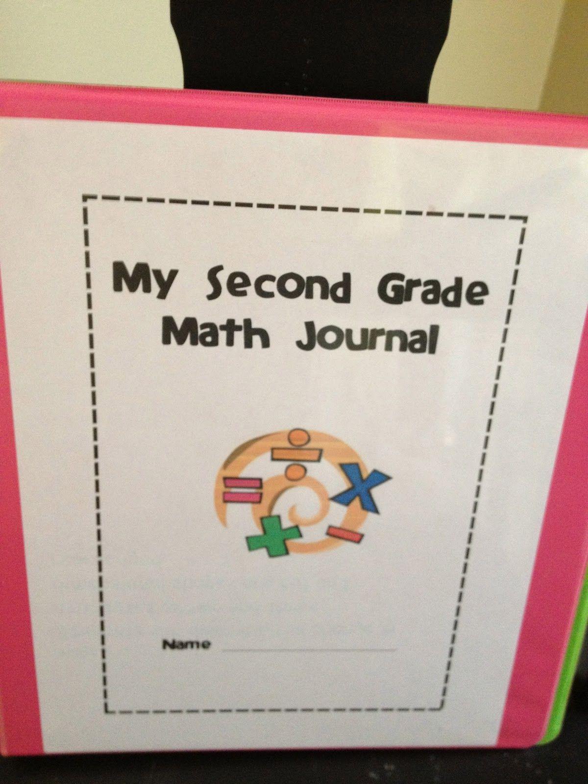 Super Sweet Second Grade Math Journals Heather Style