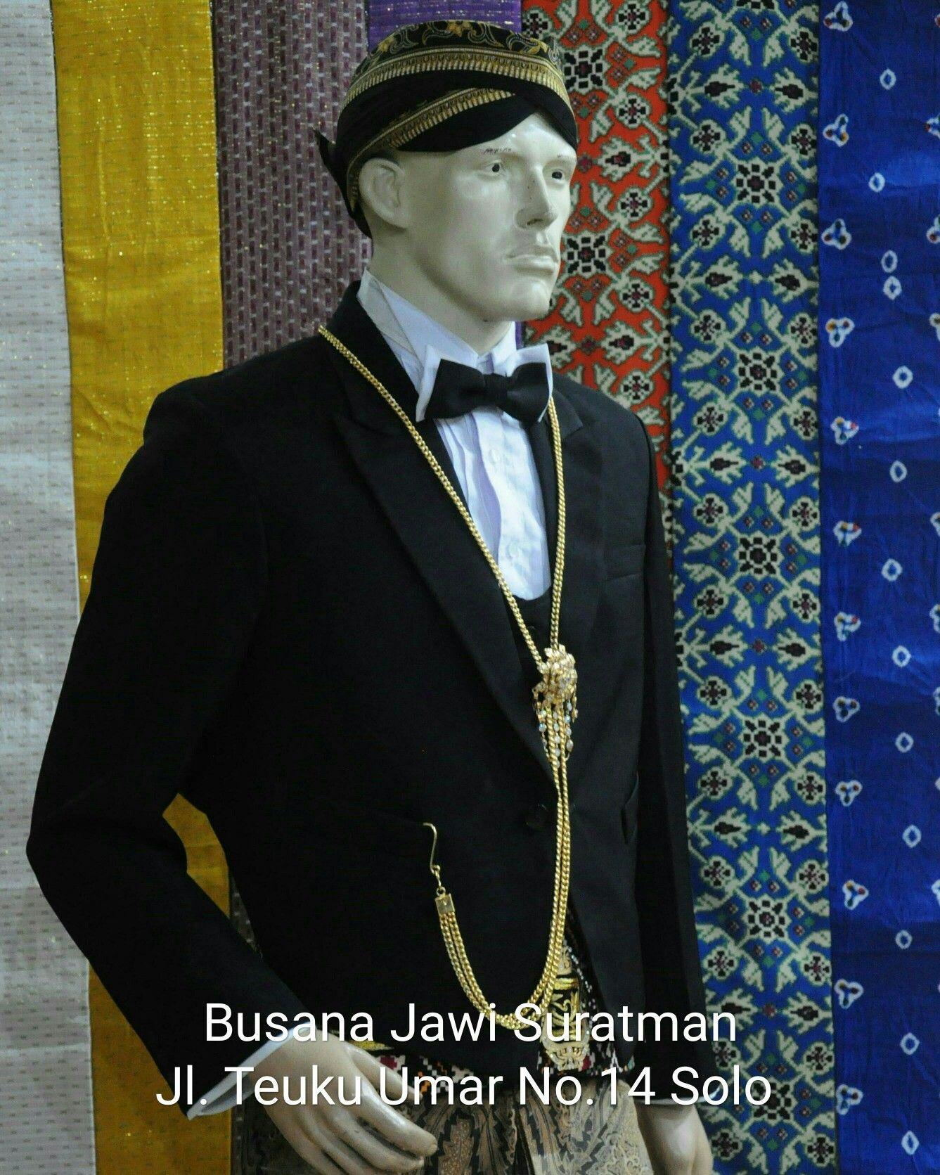 Pakaian Adat Solo Pria