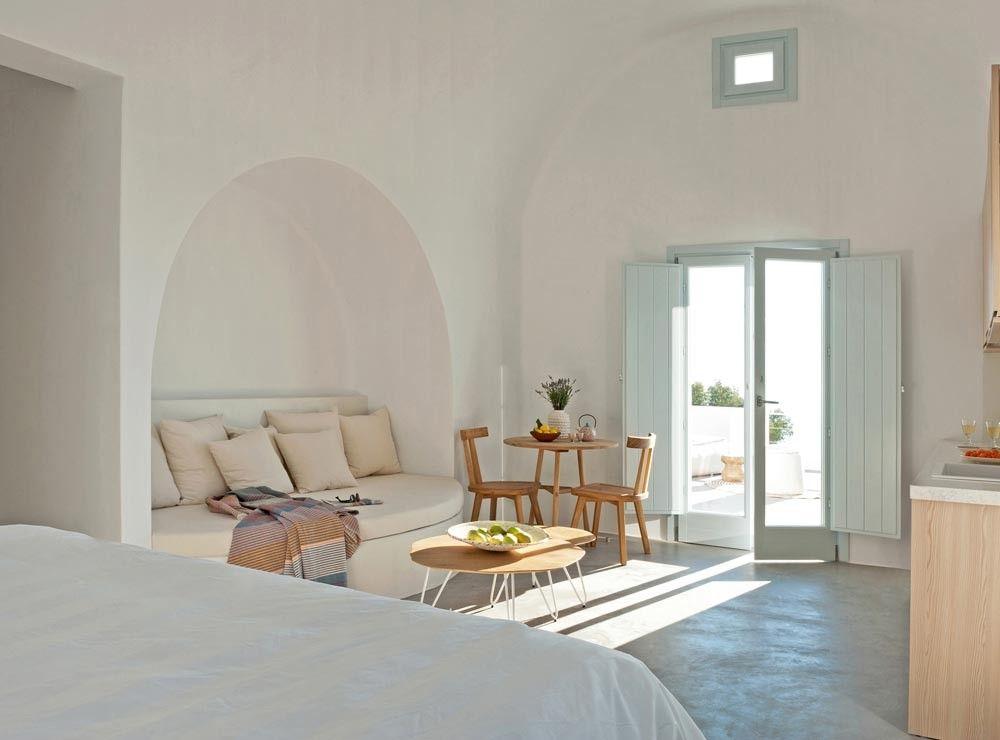 Islas griegas estilo mediterr neo fresco y relajado for Disenos de casas de playa pequenas
