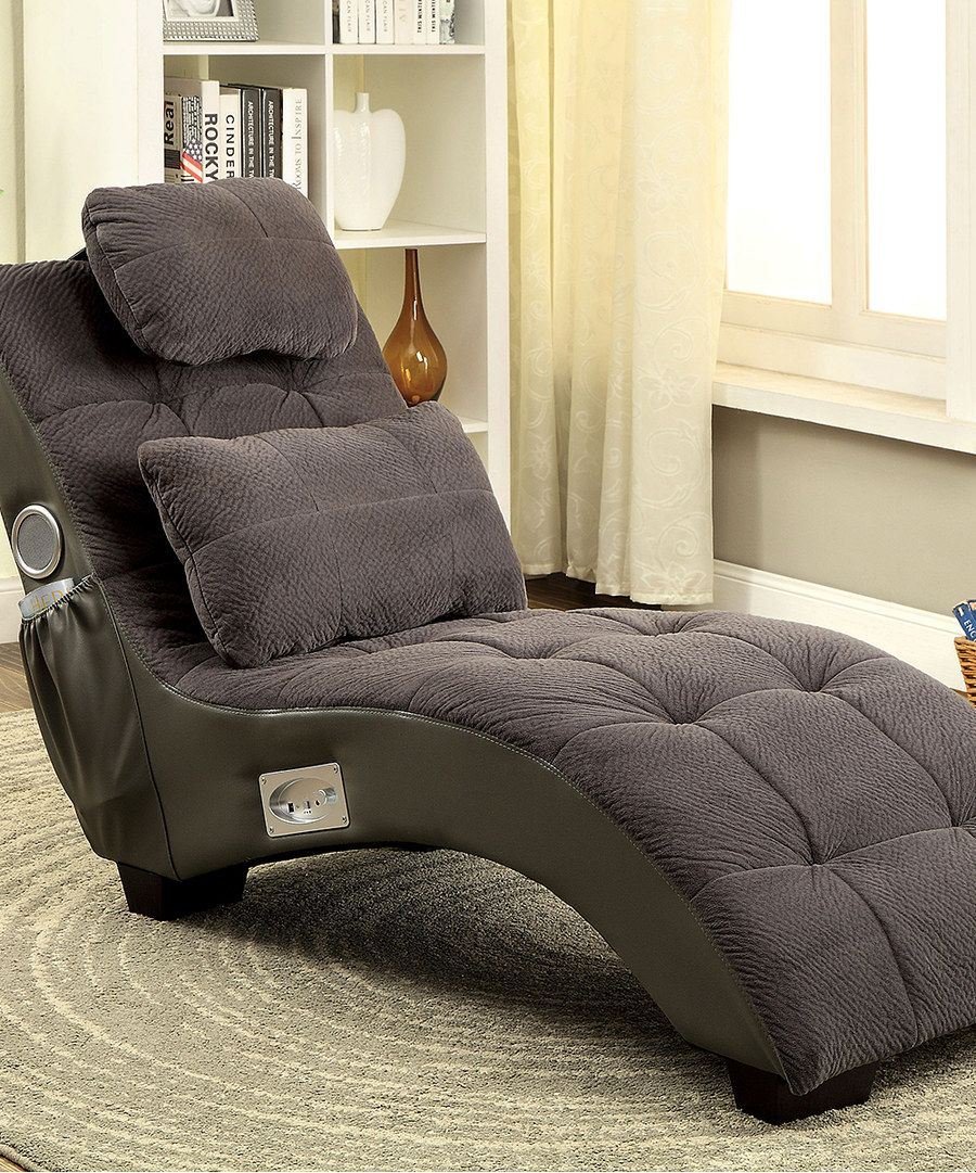 Look at this Gray Bluetooth Speakers Chaise on zulily