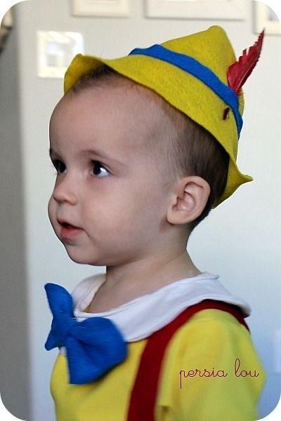 Diy little pinocchio halloween family costume ideas pinterest diy little pinocchio hat maxwellsz