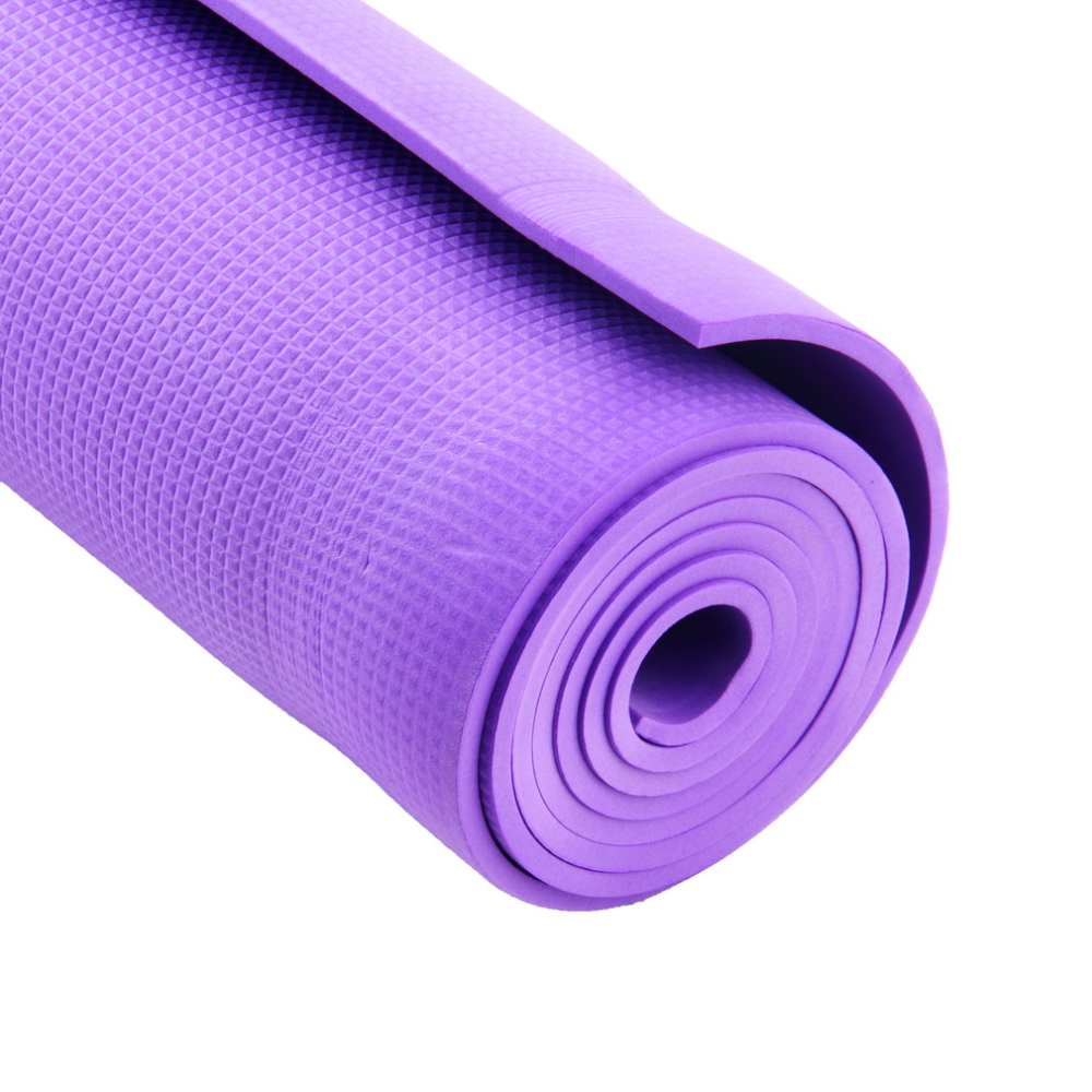 Imcute 2020 New Extra Thick Non Slip 6mm Yoga Mat Pad Cushion Large Foam Exercise Gym Fitness Pilates Meditation Yoga In 2020 Workout Pad Mat Exercises Pilates Workout