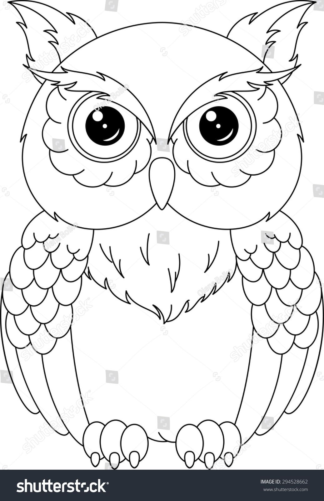 Pin by Tina on Patterns  Owl coloring pages, Owls drawing, Owl