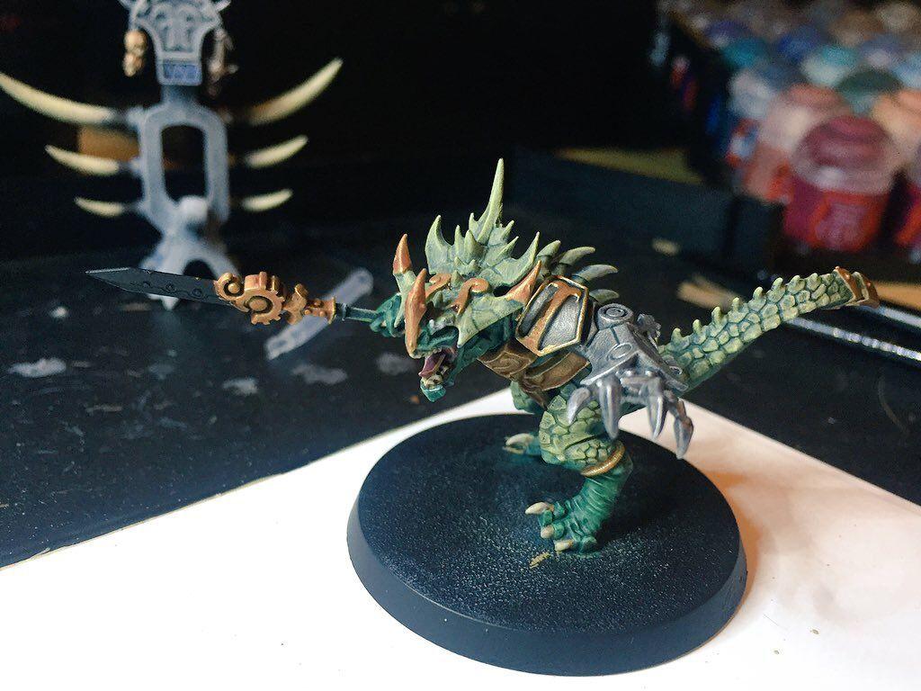 Warhammer Seraphon Paint Jobs